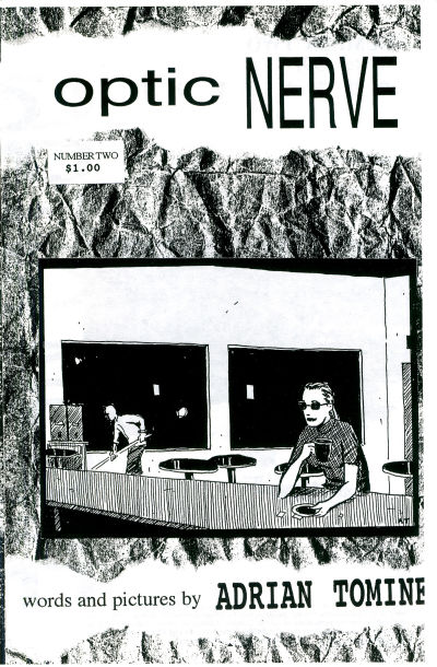 Cover for Optic Nerve (Adrian Tomine, 1991 series) #2