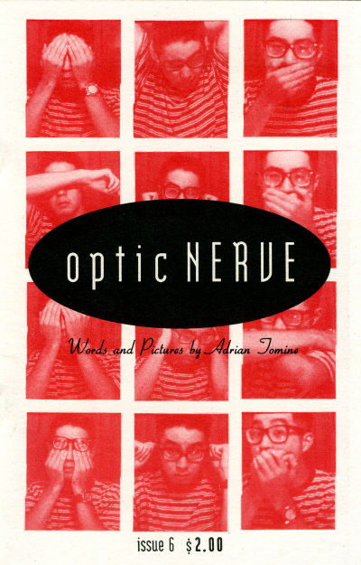 Cover for Optic Nerve (Adrian Tomine, 1991 series) #6