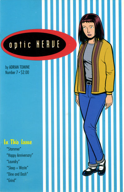 Cover for Optic Nerve (Adrian Tomine, 1991 series) #7