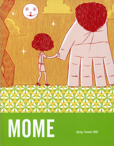Cover for Mome (Fantagraphics, 2005 series) #[4] Spring/Summer 2006