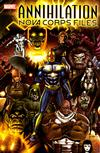 Cover for Annihilation The Nova Corps Files (Marvel, 2006 series)