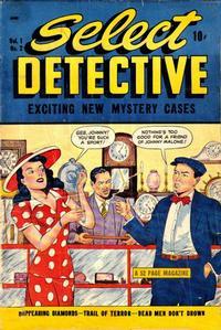 Cover Thumbnail for Select Detective (D.S. Publishing, 1948 series) #v1#2