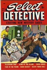 Cover Thumbnail for Select Detective (D.S. Publishing, 1948 series) #v1#3