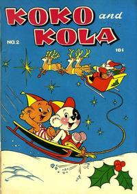 Cover Thumbnail for Koko and Kola (Magazine Enterprises, 1946 series) #2