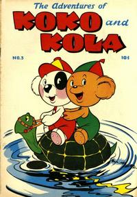 Cover Thumbnail for Koko and Kola (Magazine Enterprises, 1946 series) #3