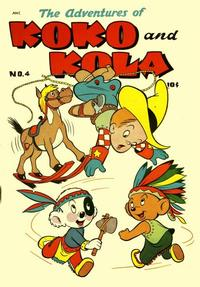 Cover Thumbnail for Koko and Kola (Magazine Enterprises, 1946 series) #4