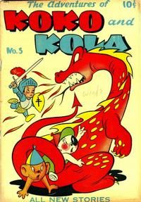 Cover Thumbnail for Koko and Kola (Magazine Enterprises, 1946 series) #5