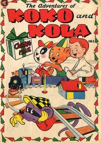Cover Thumbnail for Koko and Kola (Magazine Enterprises, 1946 series) #[6] [A-1 #28]