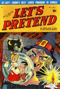Cover Thumbnail for Let's Pretend (D.S. Publishing, 1950 series) #v1#1