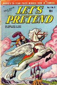 Cover Thumbnail for Let's Pretend (D.S. Publishing, 1950 series) #v1#2