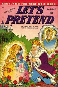 Cover Thumbnail for Let's Pretend (D.S. Publishing, 1950 series) #v1#3