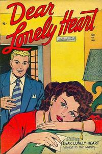 Cover Thumbnail for Dear Lonely Heart (Comic Media, 1951 series) #4