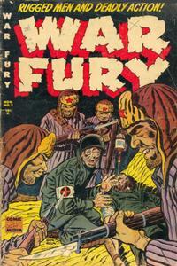 Cover Thumbnail for War Fury (Comic Media, 1952 series) #2