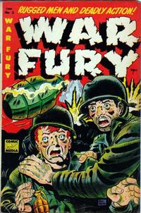 Cover Thumbnail for War Fury (Comic Media, 1952 series) #3