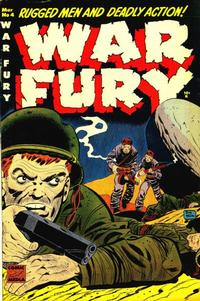 Cover Thumbnail for War Fury (Comic Media, 1952 series) #4