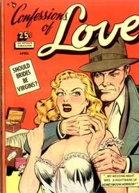 Cover Thumbnail for Confessions of Love (Comic Media, 1950 series) #1