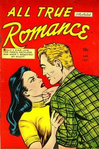 Cover Thumbnail for All True Romance (Comic Media, 1951 series) #1