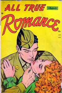 Cover Thumbnail for All True Romance (Comic Media, 1951 series) #4