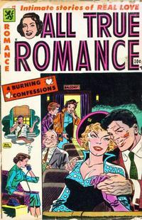 Cover Thumbnail for All True Romance (Comic Media, 1951 series) #20