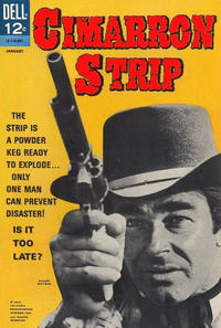 Cover Thumbnail for Cimarron Strip (Dell, 1968 series) #1