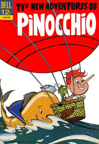 Cover Thumbnail for New Adventures of Pinocchio (Dell, 1962 series) #2