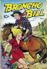 Cover Thumbnail for Broncho Bill (Pines, 1947 series) #6
