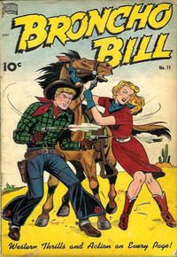 Cover Thumbnail for Broncho Bill (Pines, 1947 series) #11