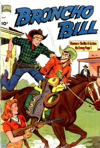 Cover for Broncho Bill (Pines, 1947 series) #15