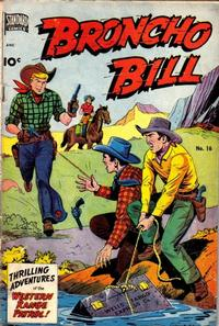 Cover for Broncho Bill (Pines, 1947 series) #16