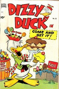Cover Thumbnail for Dizzy Duck (Pines, 1950 series) #32