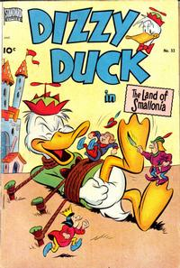 Cover Thumbnail for Dizzy Duck (Pines, 1950 series) #33