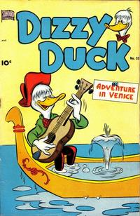 Cover Thumbnail for Dizzy Duck (Pines, 1950 series) #35