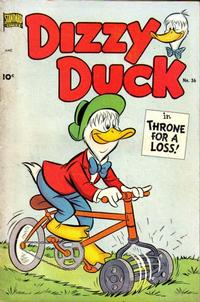 Cover Thumbnail for Dizzy Duck (Pines, 1950 series) #36