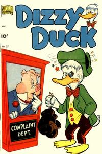 Cover Thumbnail for Dizzy Duck (Pines, 1950 series) #37