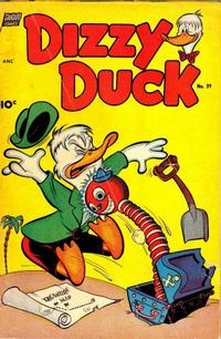 Cover Thumbnail for Dizzy Duck (Pines, 1950 series) #39