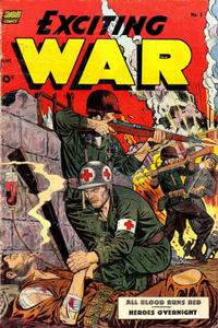 Cover Thumbnail for Exciting War (Pines, 1952 series) #5