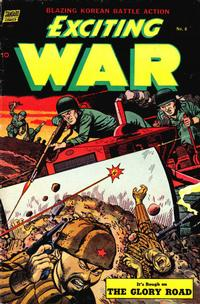 Cover Thumbnail for Exciting War (Pines, 1952 series) #8