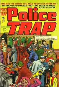 Cover Thumbnail for Police Trap (Mainline, 1954 series) #1