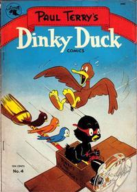 Cover Thumbnail for Dinky Duck (St. John, 1951 series) #4