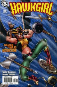 Cover Thumbnail for Hawkgirl (DC, 2006 series) #56