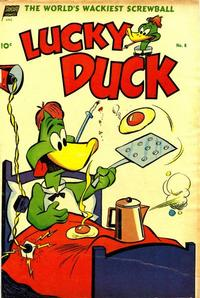Cover Thumbnail for Lucky Duck (Pines, 1953 series) #8