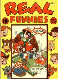 Cover Thumbnail for Real Funnies (Pines, 1943 series) #1