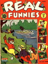 Cover Thumbnail for Real Funnies (Pines, 1943 series) #2