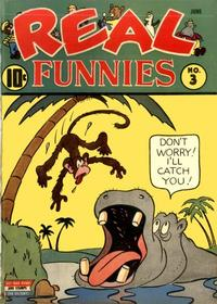 Cover Thumbnail for Real Funnies (Pines, 1943 series) #3