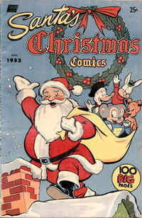 Cover Thumbnail for Santa's Christmas Comics (Pines, 1952 series) #[nn]