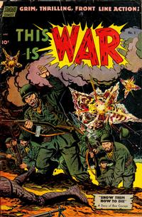Cover Thumbnail for This Is War (Pines, 1952 series) #5