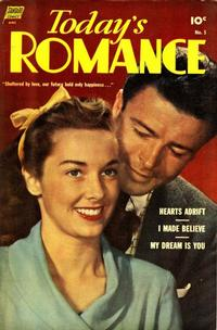 Cover Thumbnail for Today's Romance (Pines, 1952 series) #5
