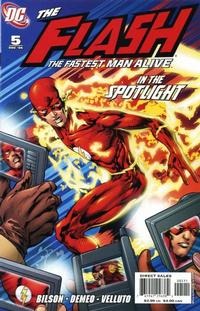 Cover Thumbnail for Flash: The Fastest Man Alive (DC, 2006 series) #5