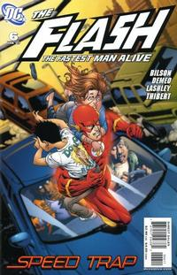Cover Thumbnail for Flash: The Fastest Man Alive (DC, 2006 series) #6
