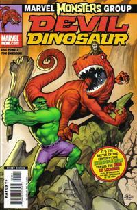 Cover Thumbnail for Marvel Monsters: Devil Dinosaur (Marvel, 2005 series) #1